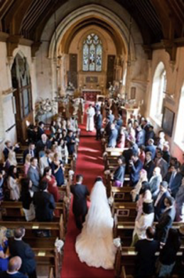 prestwold st andrews wedding